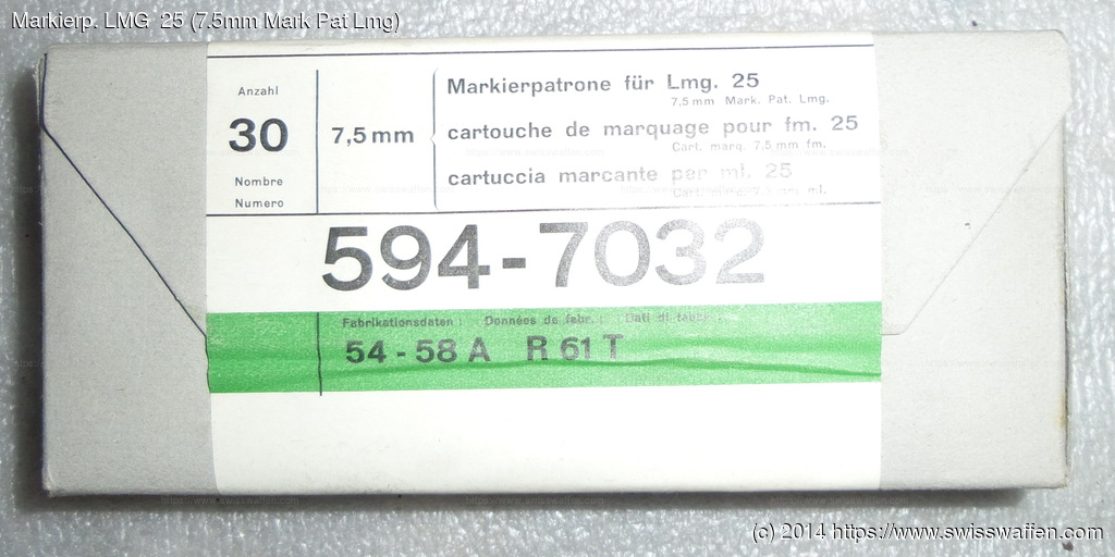 Markierp. LMG  25 (7.5mm Mark Pat Lmg)