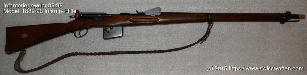 Modell 1889/96 Infantry Rifle